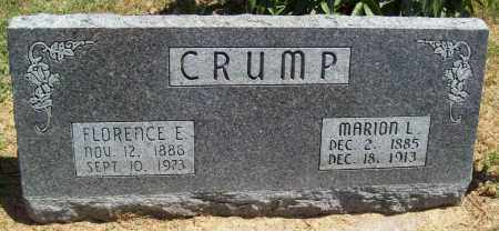 CRUMP, MARION L. - Thayer County, Nebraska | MARION L. CRUMP - Nebraska Gravestone Photos
