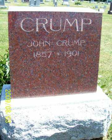 CRUMP, JOHN - Thayer County, Nebraska | JOHN CRUMP - Nebraska Gravestone Photos