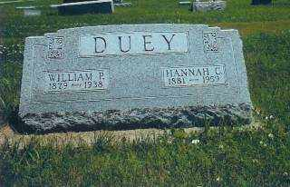 DUEY, WILLIAM - Thayer County, Nebraska | WILLIAM DUEY - Nebraska Gravestone Photos