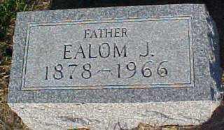 GEORGE, EALOM - Thayer County, Nebraska | EALOM GEORGE - Nebraska Gravestone Photos