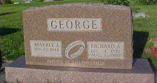 GEORGE, BEVERLY - Thayer County, Nebraska | BEVERLY GEORGE - Nebraska Gravestone Photos