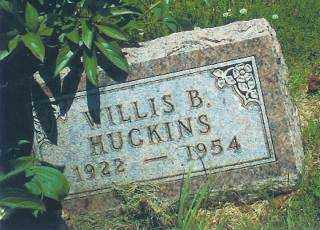 HUCKINS, WILLIS - Thayer County, Nebraska   WILLIS HUCKINS - Nebraska Gravestone Photos