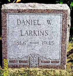 LARKINS, DANIEL WOODS - Thayer County, Nebraska | DANIEL WOODS LARKINS - Nebraska Gravestone Photos