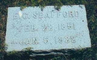 SPAFFORD, ELVARO - Thayer County, Nebraska | ELVARO SPAFFORD - Nebraska Gravestone Photos