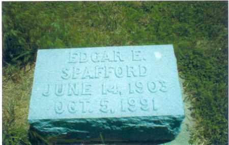 SPAFFORD, EDGAR - Thayer County, Nebraska   EDGAR SPAFFORD - Nebraska Gravestone Photos