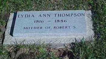 BENNETT THOMPSON, LYDIA - Thayer County, Nebraska   LYDIA BENNETT THOMPSON - Nebraska Gravestone Photos
