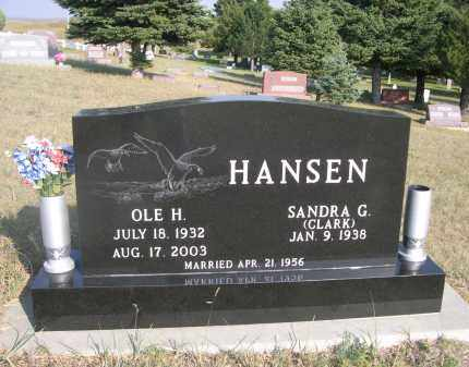 HANSEN, OLE H. - Thomas County, Nebraska   OLE H. HANSEN - Nebraska Gravestone Photos