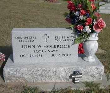 HOLBROOK, JOHN W. - Thomas County, Nebraska | JOHN W. HOLBROOK - Nebraska Gravestone Photos