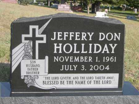 HOLLIDAY, JEFFERY DON - Thomas County, Nebraska | JEFFERY DON HOLLIDAY - Nebraska Gravestone Photos