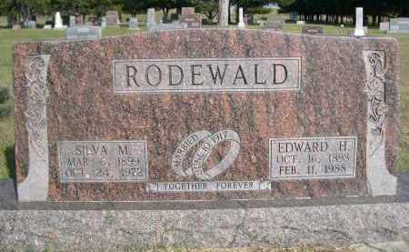 DODEWALD, EDWARD H. - Thomas County, Nebraska | EDWARD H. DODEWALD - Nebraska Gravestone Photos