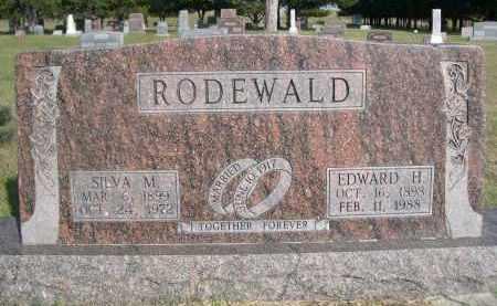 RODEWALD, SILVA M. - Thomas County, Nebraska | SILVA M. RODEWALD - Nebraska Gravestone Photos