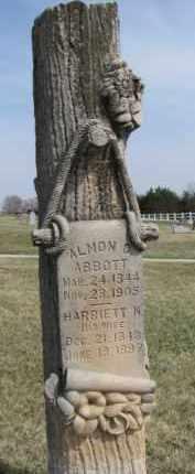 ABBOTT, HARRIETT N. - Thurston County, Nebraska   HARRIETT N. ABBOTT - Nebraska Gravestone Photos