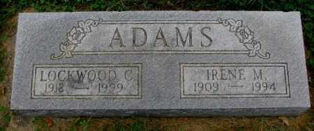 ADAMS, LOCKWOOD C. - Thurston County, Nebraska | LOCKWOOD C. ADAMS - Nebraska Gravestone Photos