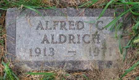 ALDRICH, ALFRED C. - Thurston County, Nebraska | ALFRED C. ALDRICH - Nebraska Gravestone Photos