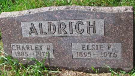 ALDRICH, ELSIE F. - Thurston County, Nebraska | ELSIE F. ALDRICH - Nebraska Gravestone Photos