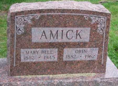 AMICK, MARY BELL - Thurston County, Nebraska | MARY BELL AMICK - Nebraska Gravestone Photos