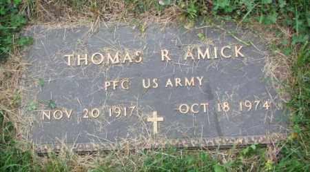 AMICK, THOMAS R. - Thurston County, Nebraska | THOMAS R. AMICK - Nebraska Gravestone Photos