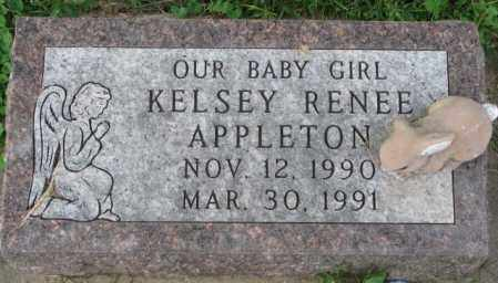 APPLETON, KELSEY RENEE - Thurston County, Nebraska | KELSEY RENEE APPLETON - Nebraska Gravestone Photos