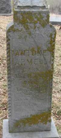 ARMELL, ANTONE - Thurston County, Nebraska | ANTONE ARMELL - Nebraska Gravestone Photos