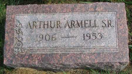 ARMELL, ARTHUR SR. - Thurston County, Nebraska   ARTHUR SR. ARMELL - Nebraska Gravestone Photos