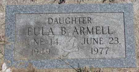 ARMELL, EULA B. - Thurston County, Nebraska | EULA B. ARMELL - Nebraska Gravestone Photos