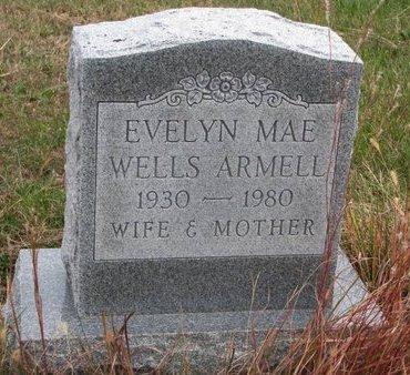 ARMELL, EVELYN MAE - Thurston County, Nebraska | EVELYN MAE ARMELL - Nebraska Gravestone Photos