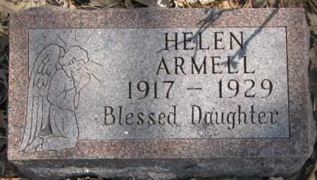 ARMELL, HELEN - Thurston County, Nebraska | HELEN ARMELL - Nebraska Gravestone Photos
