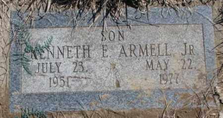 ARMELL, KENNETH E. JR. - Thurston County, Nebraska   KENNETH E. JR. ARMELL - Nebraska Gravestone Photos