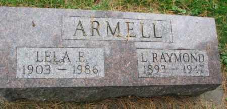ARMELL, LELA E. - Thurston County, Nebraska | LELA E. ARMELL - Nebraska Gravestone Photos