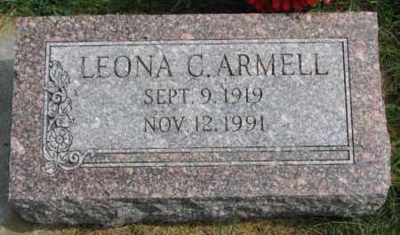 ARMELL, LEONA C. - Thurston County, Nebraska | LEONA C. ARMELL - Nebraska Gravestone Photos