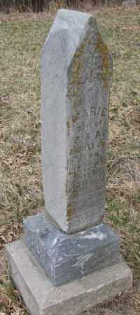 ARMELL, MARIE - Thurston County, Nebraska | MARIE ARMELL - Nebraska Gravestone Photos