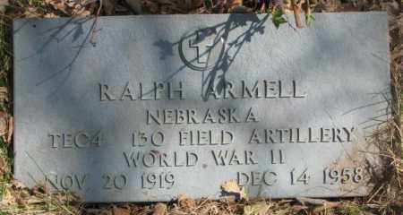 ARMELL, RALPH - Thurston County, Nebraska | RALPH ARMELL - Nebraska Gravestone Photos