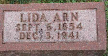 ARN, LIDA - Thurston County, Nebraska   LIDA ARN - Nebraska Gravestone Photos