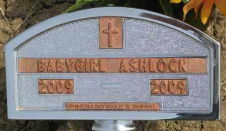 ASHLOCK, BABY GIRL - Thurston County, Nebraska | BABY GIRL ASHLOCK - Nebraska Gravestone Photos