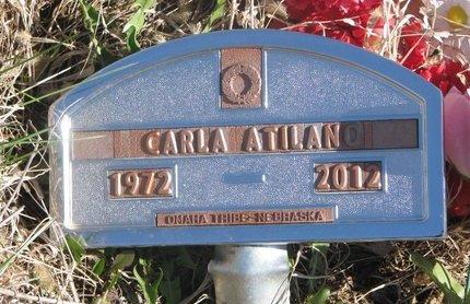 ATILANO, CARLA - Thurston County, Nebraska | CARLA ATILANO - Nebraska Gravestone Photos