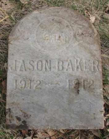 BAKER, JASON - Thurston County, Nebraska | JASON BAKER - Nebraska Gravestone Photos