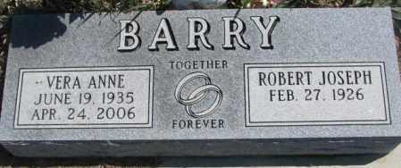 BARRY, ROBERT JOSEPH - Thurston County, Nebraska | ROBERT JOSEPH BARRY - Nebraska Gravestone Photos