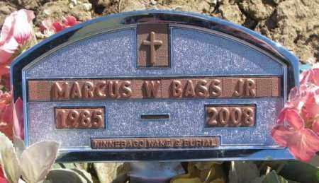 BASS, MARCUS W. JR. - Thurston County, Nebraska | MARCUS W. JR. BASS - Nebraska Gravestone Photos