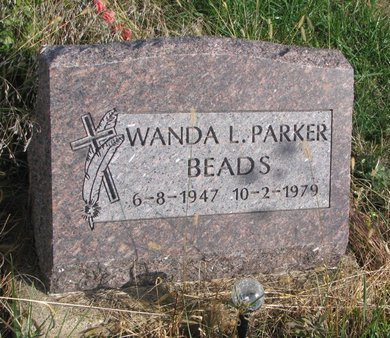 BEADS, WANDA L. - Thurston County, Nebraska | WANDA L. BEADS - Nebraska Gravestone Photos