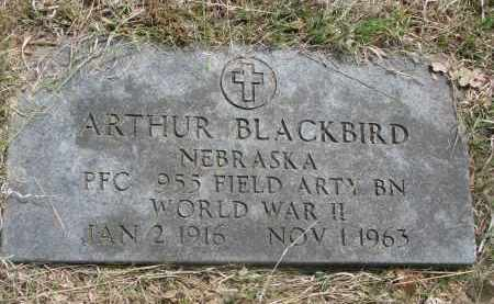 BLACKBIRD, ARTHUR - Thurston County, Nebraska | ARTHUR BLACKBIRD - Nebraska Gravestone Photos