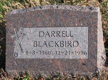 BLACKBIRD, DARRELL - Thurston County, Nebraska | DARRELL BLACKBIRD - Nebraska Gravestone Photos