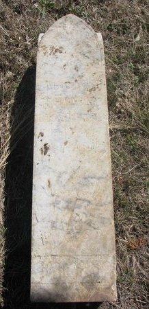 BLACKBIRD, EMMA - Thurston County, Nebraska | EMMA BLACKBIRD - Nebraska Gravestone Photos