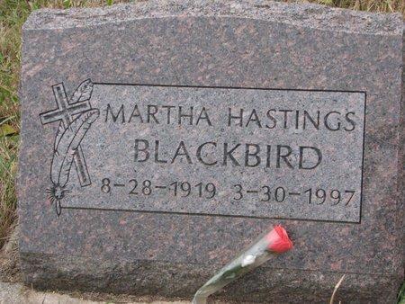 BLACKBIRD, MARTHA - Thurston County, Nebraska | MARTHA BLACKBIRD - Nebraska Gravestone Photos