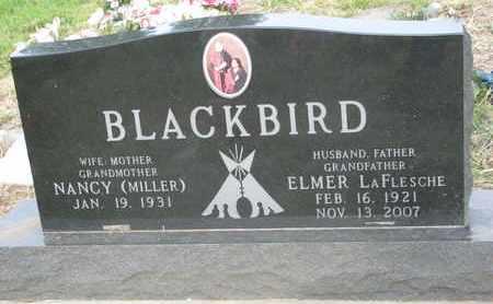 BLACKBIRD, NANCY - Thurston County, Nebraska | NANCY BLACKBIRD - Nebraska Gravestone Photos