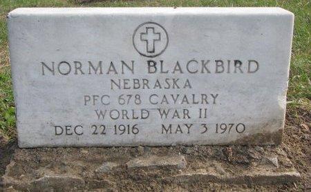 BLACKBIRD, NORMAN - Thurston County, Nebraska | NORMAN BLACKBIRD - Nebraska Gravestone Photos