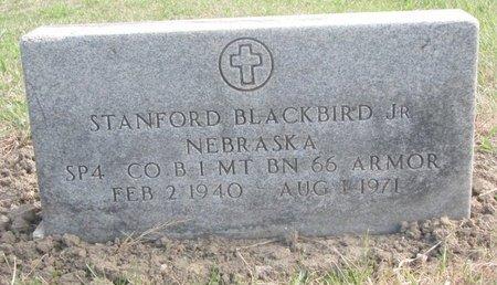 BLACKBIRD, STANFORD JR. - Thurston County, Nebraska | STANFORD JR. BLACKBIRD - Nebraska Gravestone Photos