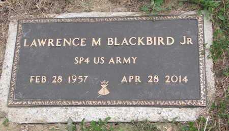 BLACKBIRD, LAWRENCE M. JR. - Thurston County, Nebraska   LAWRENCE M. JR. BLACKBIRD - Nebraska Gravestone Photos