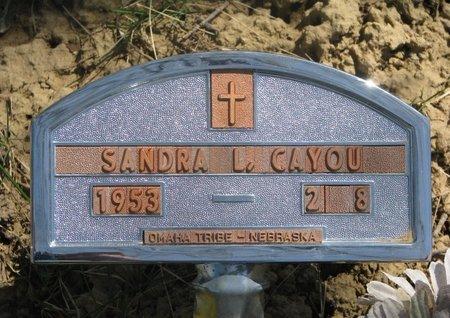 CAYOU, SANDRA L. - Thurston County, Nebraska | SANDRA L. CAYOU - Nebraska Gravestone Photos