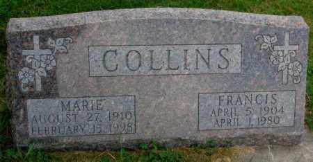 COLLINS, MARIE - Thurston County, Nebraska | MARIE COLLINS - Nebraska Gravestone Photos