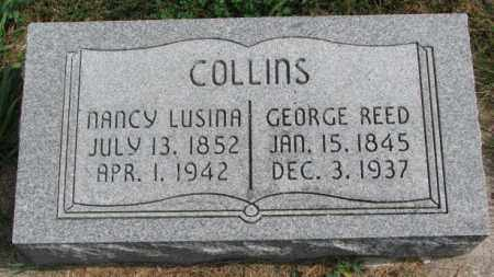 COLLINS, GEORGE REED - Thurston County, Nebraska | GEORGE REED COLLINS - Nebraska Gravestone Photos